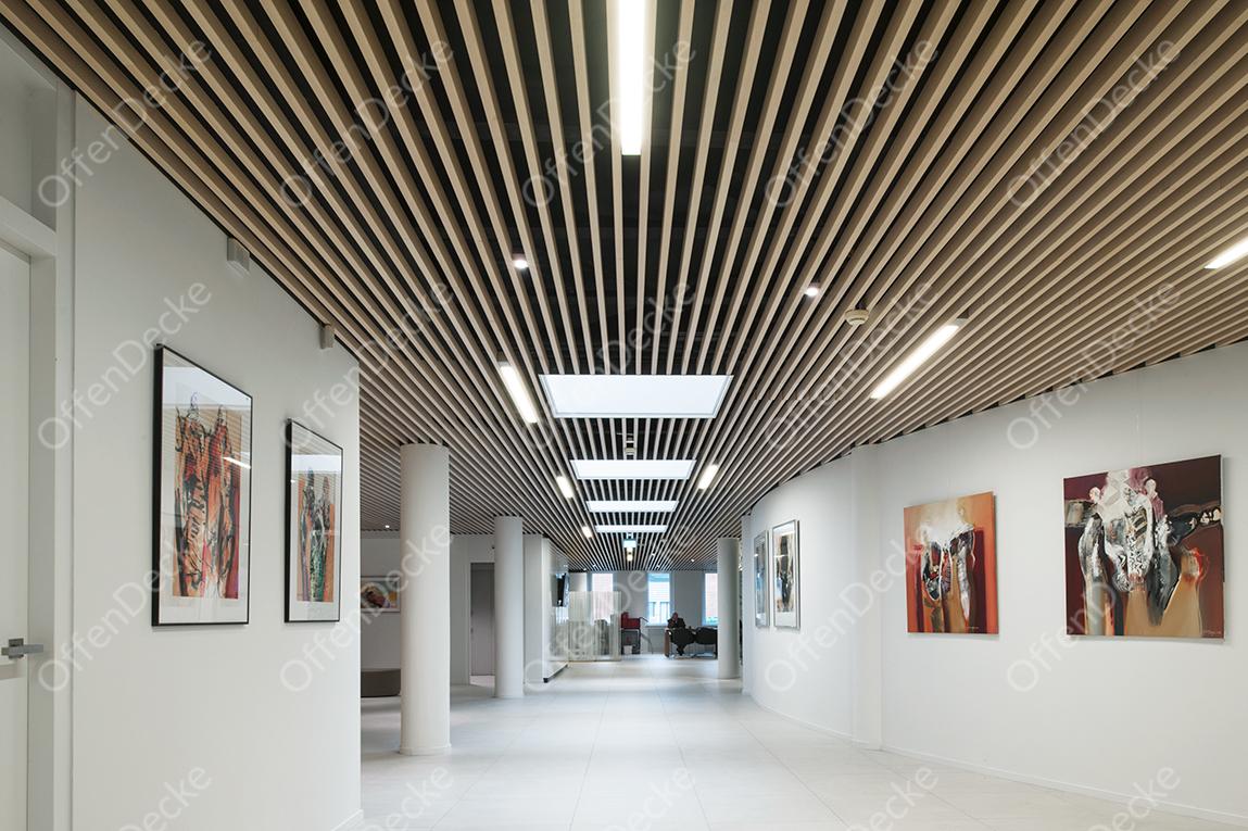 Реечный потолок кубообразного дизайна цена Реечный потолок Кубообразного дизайна