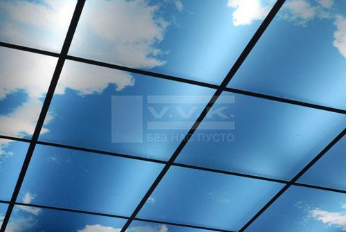 Виды навесных потолков