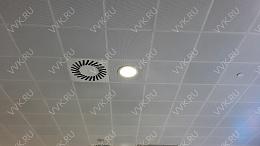 Кассетные потолки: цена за м2, Купить кассетный подвесной потолок в Москве: металлический, алюминиевый, Компания В